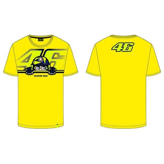 VR46 Yellow Cupolino T-shirt