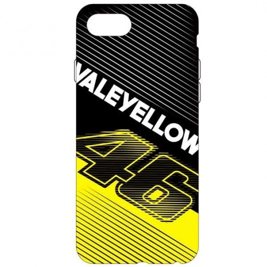 VR46 i-Phone 7 Cover Black Yellow