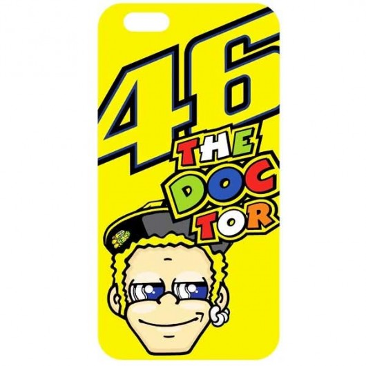 VR46 i-Phone 6/6S Case Yellow
