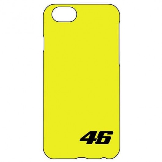 VR46 i-Phone 7 Plus Cover Yellow 46