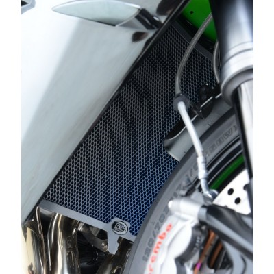 R&G Titanium Radiator Guard for Kawasaki ZX-10R 2008-2015