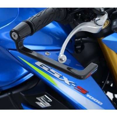 R&G Carbon Fibre Lever Guard for Suzuki GSX-S 1000, GSX-R600/750 '08- and GSX-R1000 '09-
