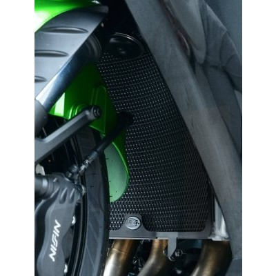 R&G Radiator Guards for Kawasaki GTR1400 '07- ZZR1400 '06- - Color - Black