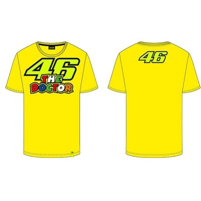VR46 Yellow T-Shirt The Doctor