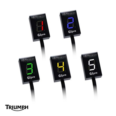 Triumph Gear Indicator Speed Triple [non-ABS] (05-14) HealTech