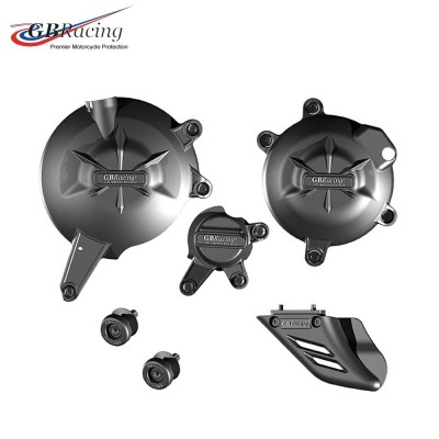 KAWASAKI ER6 ENGINE COVER SET 06-16 GB Racing