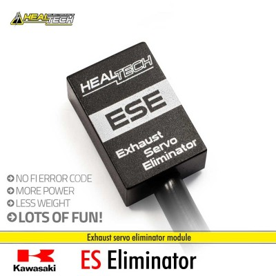 Kawasaki Exhaust Servo Eliminator - Healtech