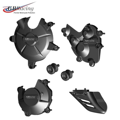Kawasaki ZX-6R ENGINE COVER SET 13-20 GB Racing