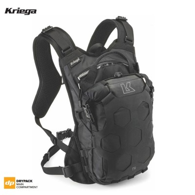Kriega TRAIL 9 ADVENTURE BACKPACK - Black