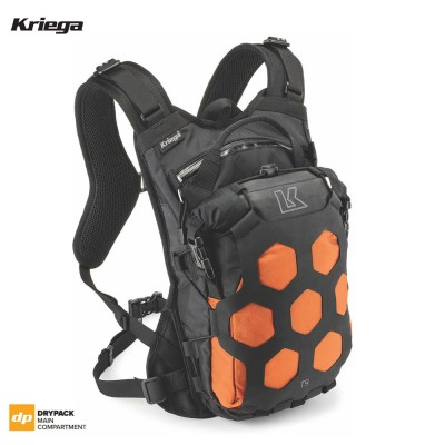 Kriega TRAIL 9 ADVENTURE BACKPACK - Orange