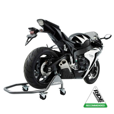 Renntec Moovamoto Mobile Motorcycle Paddock Stand Track / Workshop