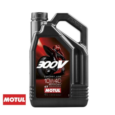 MOTUL - 300V FACTORY LINE ROAD RACING 10W40 4T