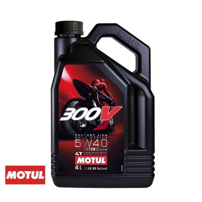 MOTUL - 300V FACTORY LINE ROAD RACING 5W40 4T