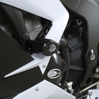 R&G Crash Protectors - Aero Style for Kawasaki ZX6R 636 ('13 onwards)