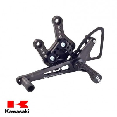 R&G Kawasaki ZX10-R Rearsets 16-18 ROAD SHIFT ONLY
