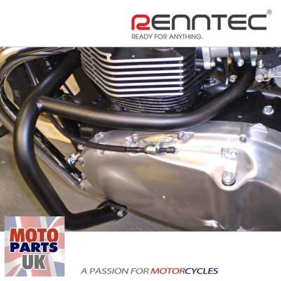 Triumph Engine Crash Bars for Bonneville / Thruxton 2000-2015 Black
