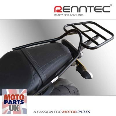 Yamaha MT09 2014-2016 Luggage Carrier Rack with Grab Rail - Black