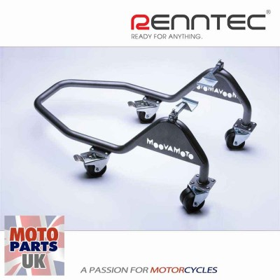Motorcycle Paddock Stand Under Swing Arm Cups - Renntec Moovamoto
