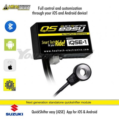 Suzuki Quick Shifter DL1000 V-Strom (2014-18) iQSE-1 + QSX-F2A