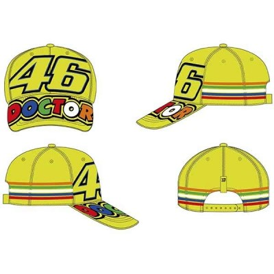 VR46 Baseball Cap Stripes