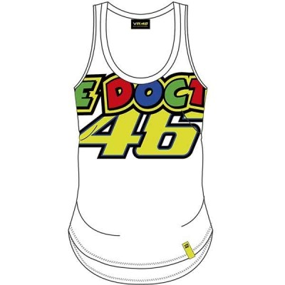 VR46 Ladies Tank Top Stripes