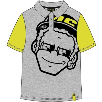 VR46 Polo Top Dottorino Kids