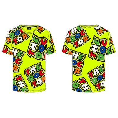 VR46 Yellow The Doctor T-shirt