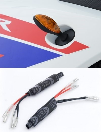 R&G LED Micro Style Motorcycle Indicators with Resistors