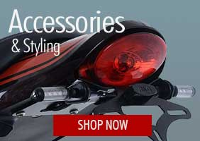 Shop Motorcycle Accessories & Styling