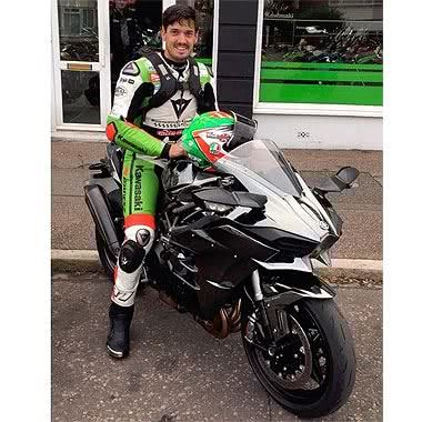 James Hillier and Kriega R20 Backpack