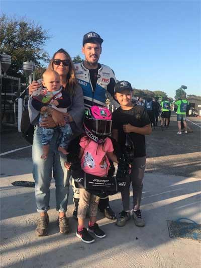 James Hillier & Family