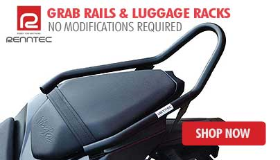 Renntec Motorcycle Luggage Racks, Grab Rails And Crash Bars